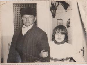 eu cu bunicul